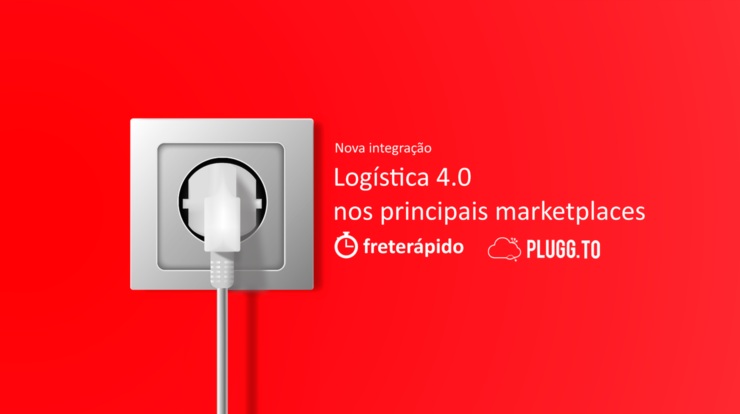 Integração frete Rápido e Plugg.to, integração logística para marketplace