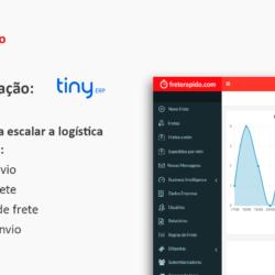 integração Tiny e Frete Rápido Blog Frete Rápido